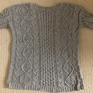 Madewell - Size M - Grey chunky knit Sweater